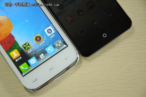 第二台手机是魅族mx2,屏幕尺寸是4