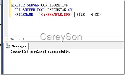 SQL Server 2014新特性Buffer Pool扩展