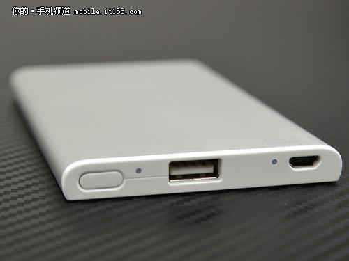 5000毫安可充千次 索尼f5移动电源试用