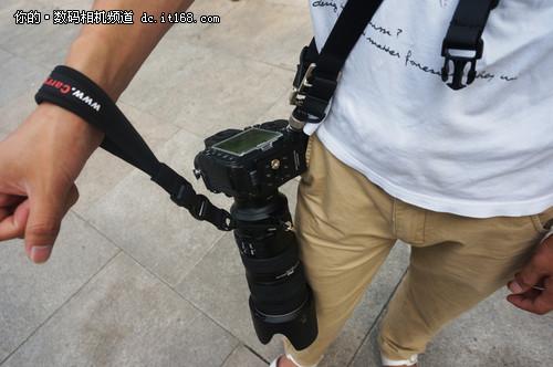 速道FS-PRO 悍马系列相机快摄背带试用