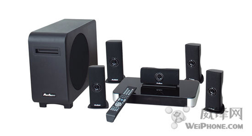 ipad全掌控 flyaudio家庭影院音响系统
