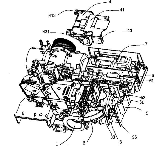 雅图 投影机均匀散热系统 专利技术006