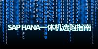 征战大数据 SAP HANA一体机选购指南