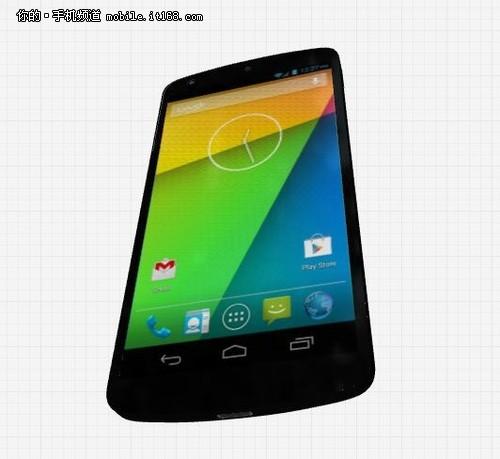 Nexus5 3D建模图放出 外观没有很大变化