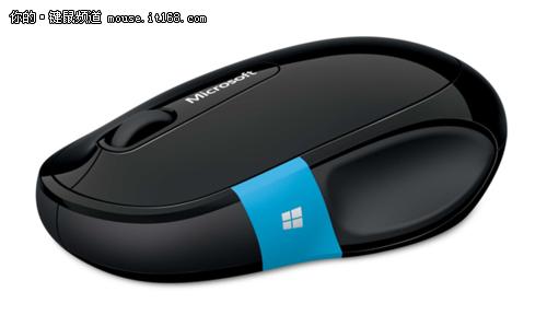 专为win8设计 微软Sculpt舒适滑控鼠标