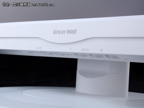 纯白机身27寸大屏 长城L2783显示器评测
