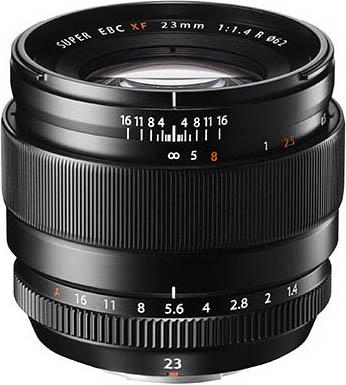 富士XF 23mm f/1.4 R镜头外观图曝光