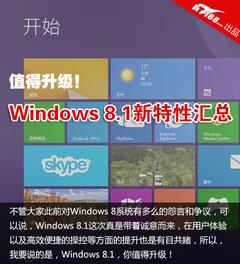 值得升级!Windows 8.1中文版更新特性