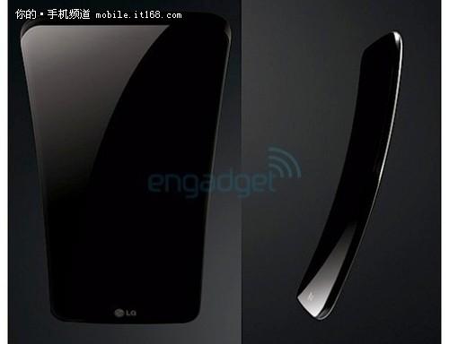 弧形屏幕 LG G Flex渲染图曝光