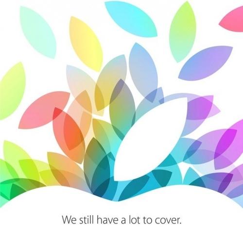 苹果发邀请 22日新品发布会新品多多