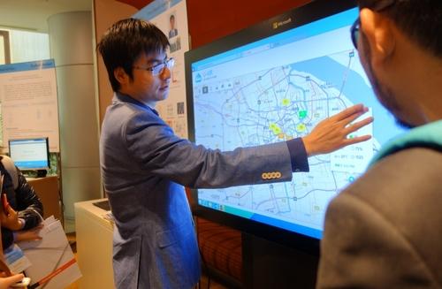 微软研究院展示大数据与机器学习的魅力