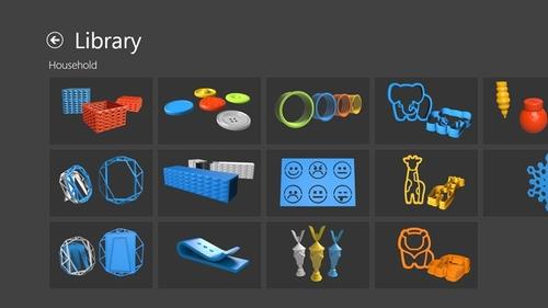 微软在Windows 8.1上推3D打印应用