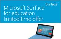 微软Surface RT价格亲民 获高校青睐