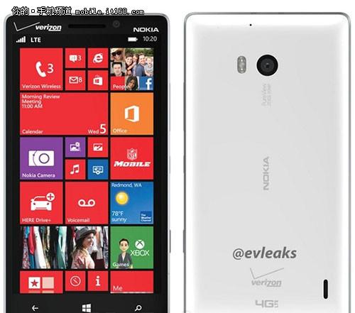 搭骁龙800 Lumia 929强势曝光