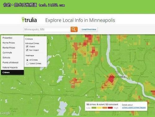 八款热点地图 轻松实现大数据可视化