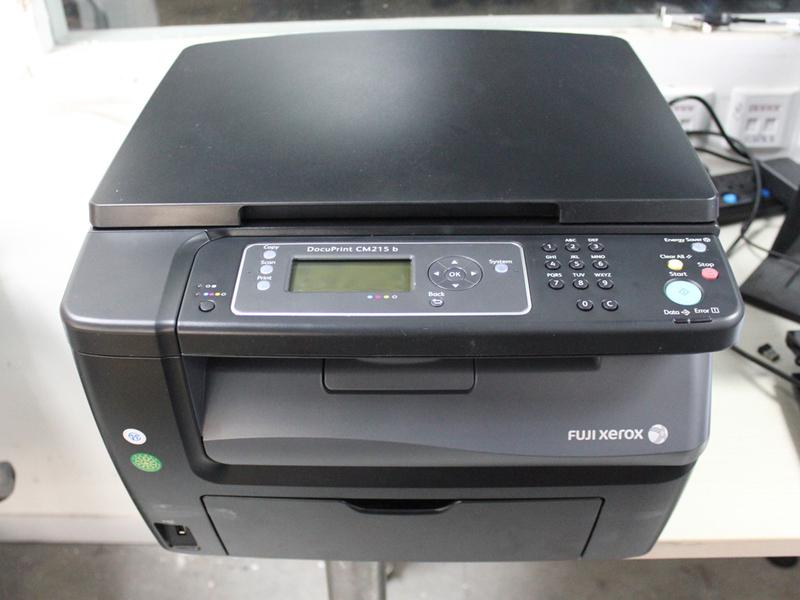 【图】桌面输出彩色先行 富士施乐cm215b试用 - 打印
