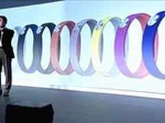时尚防水电力强 索尼发布智能手环SWR10