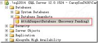SQL Server如何附加被分离的质疑数据库