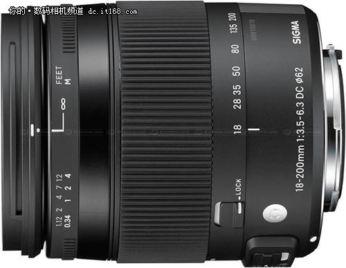 适马公布18-200/3.5-6.3DC防抖微距镜头