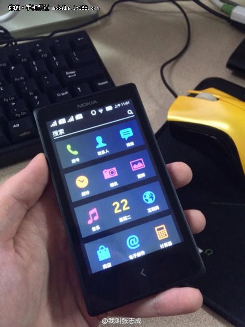 诺基亚安卓机双卡版中文界面泄露