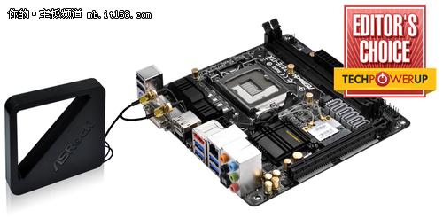 Mini-ITX最霸气板 首推华擎 Z87E-ITX