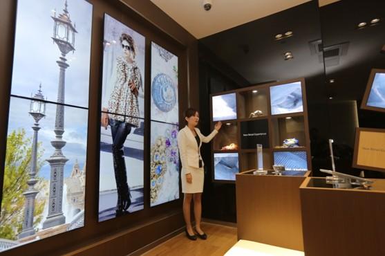 三星智能购物引领实体零售业方向
