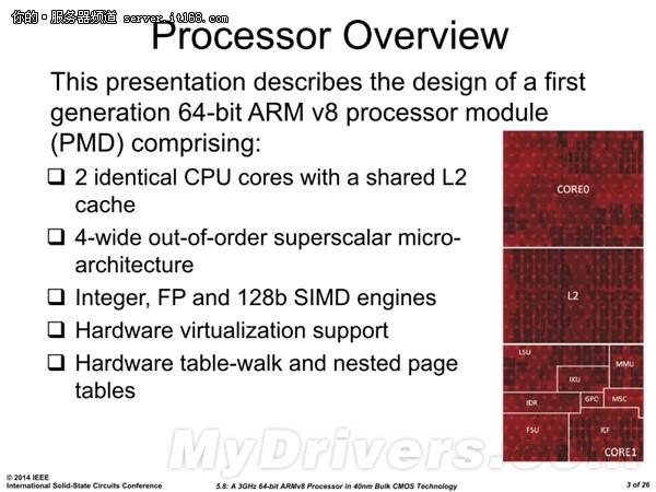 8核 3GHz 四通道DDR4:64位ARM越做越猛