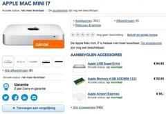 Haswell平台 苹果3月发布新款Mac mini