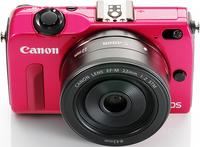 贴身闺蜜 佳能推出粉红色、黑色EOS M2