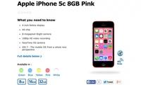 5国开售 8GB版iPhone5c容量不足