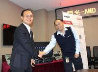 曙光AMD联合发布新版TC3600刀片服务器