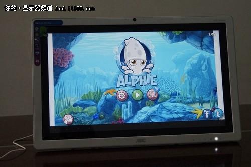 AOC智能触控显示器游戏体验