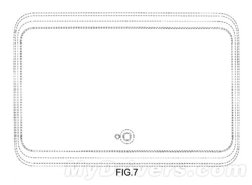 专利图显示三星新平板将去掉HOME键