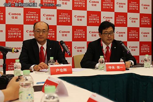 2014广州佳能博览会ICP专访整理