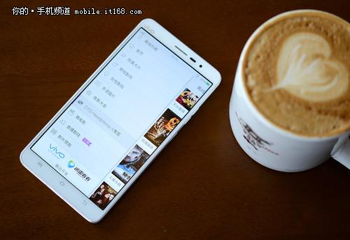 vivo Xplay3S火爆开售 京东周销量TOP10