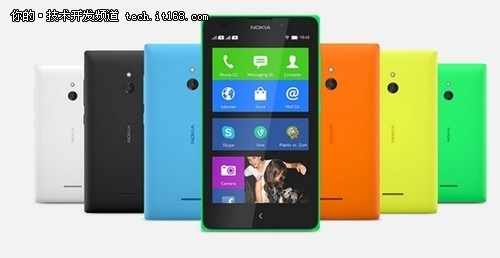 Nokia安卓机开售 应用商店与UC独家合作