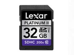 国际大牌雷克沙白金二代32G SD卡仅99元