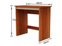仅售89元 国美自营省空间型实木电脑桌