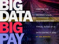 数据仓库经理领衔 高薪酬的十大IT职位