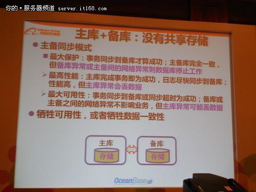 阿里巴巴阳振坤:关系数据库挑战与机遇