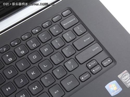 戴尔Precision M3800键盘设计