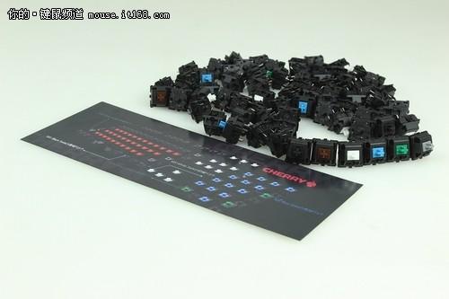 60周年纪念版 CHERRY G80-3060键盘详解