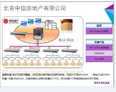 NETGEAR为中信地产打造高速无线网络