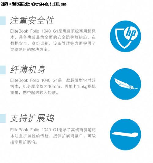 纤薄全能商务旗舰 惠普Folio 1040评测