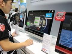 4K显示屏 微星首推AG240游戏一体电脑