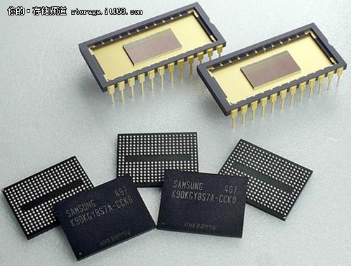 三星打造新型3D垂直设计的NAND固态硬盘