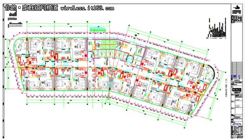 标准客房布线接线图