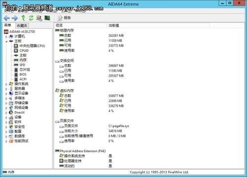 AIDA64软件识别信息