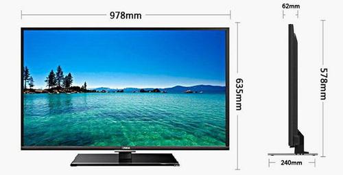 康佳led42e510de 42英寸电视 2283.7元