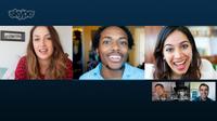 Skype免费群组视频通讯服务上线